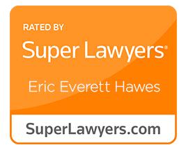 Eric Everett Hawes Super Lawyer Badge