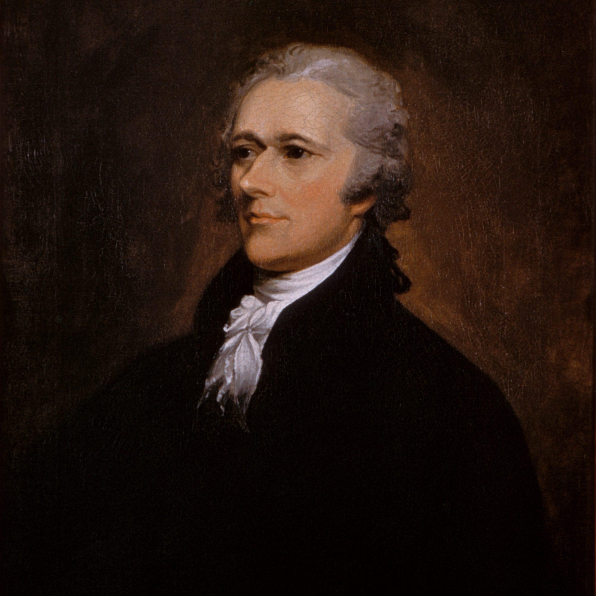 Portrait of Alexander Hamilton - Banking Law - Eric Everett Hawes